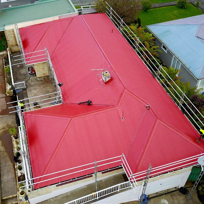 Pioneer Red Re Roof - Aquashield Roofing Ltd